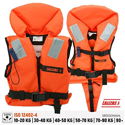 Lalizas gilets de sauvetage 100 N; CE ISO 12402-4 certification (2.3 pour l'adulte - 70-90 kg)