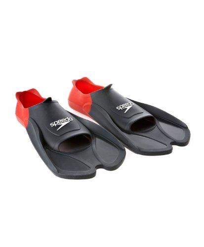 Speedo - Biofuse training fin nr/r - Palmes de natation - Gris Anthracite foncé - Taille 38