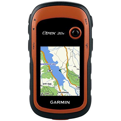 Garmin eTrex 20x - GPS de Randonnée - Cartographie TopoActive Europe de l'Ouest Préchargée - Orange + Garmin Housse de protection pour ETREX 10/20/30